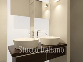 bagno in stucco