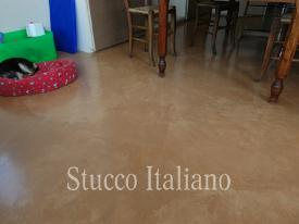 natural floor plaster