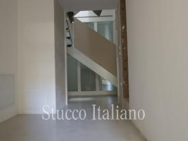 stucco floor