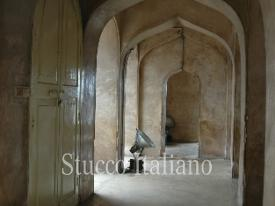 old stucco finish in india